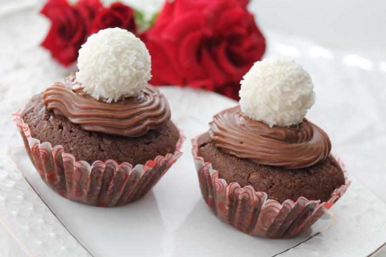 """Cupcakes """"Raffaello"""""""