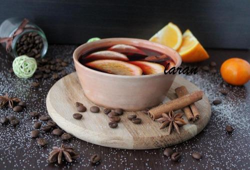 Ароматний кавовий глінтвейн