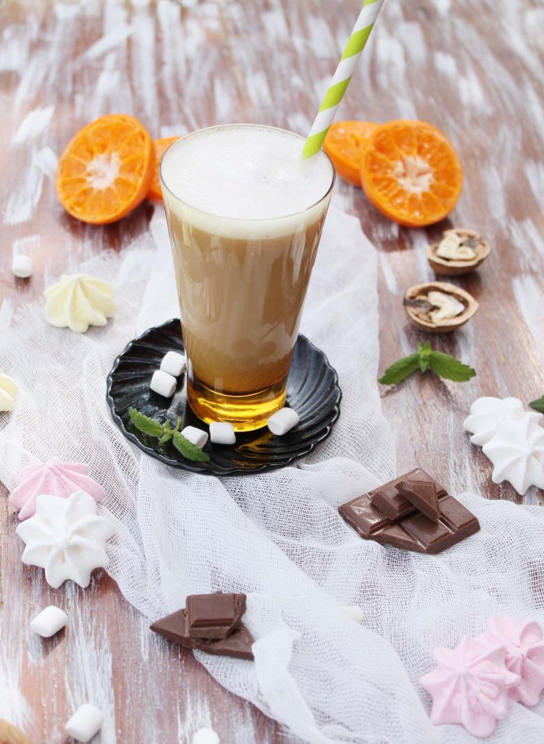 Мандаринова кава гляссе