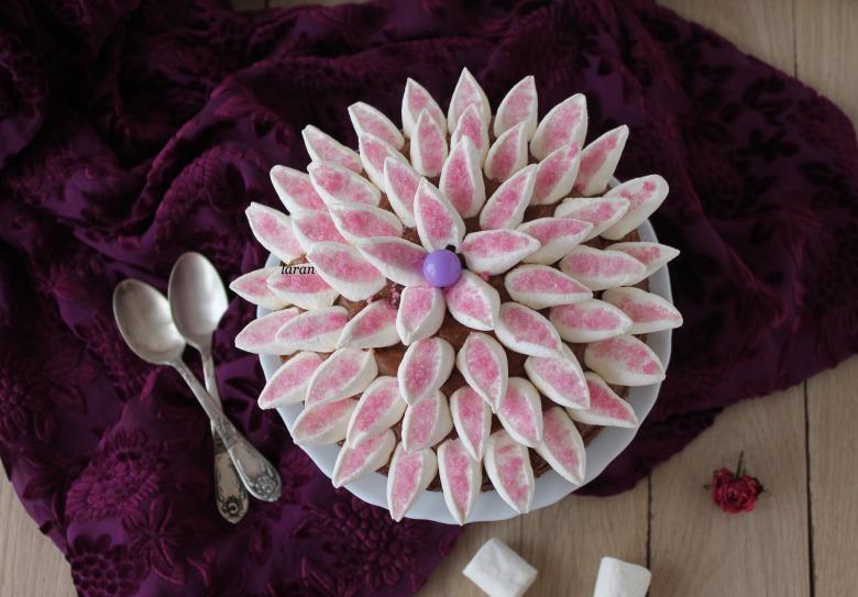 Шоколадний пиріг «Квітка»