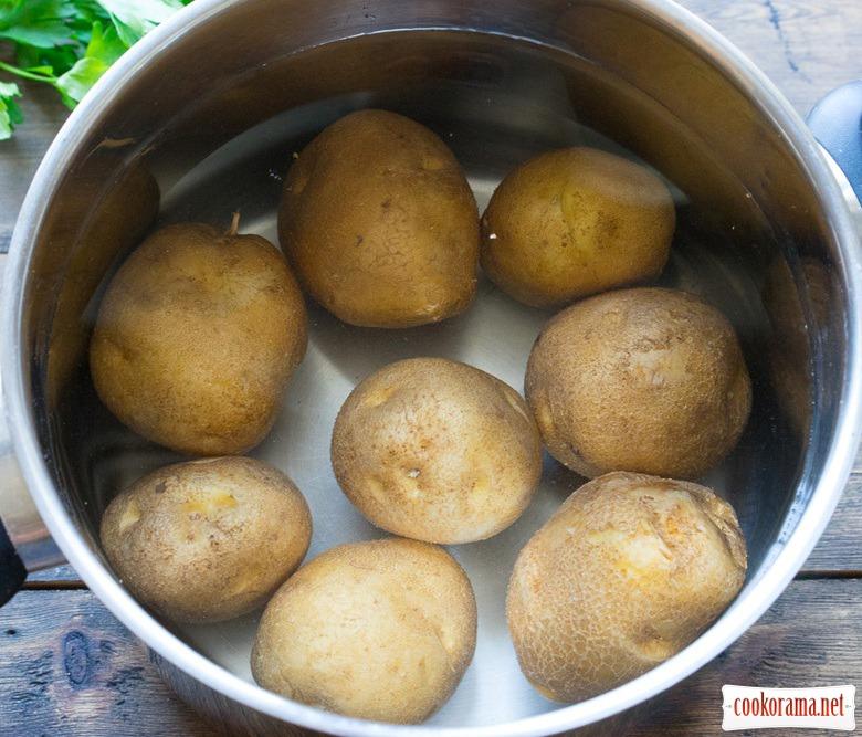 Картопляні крокети з начинкою