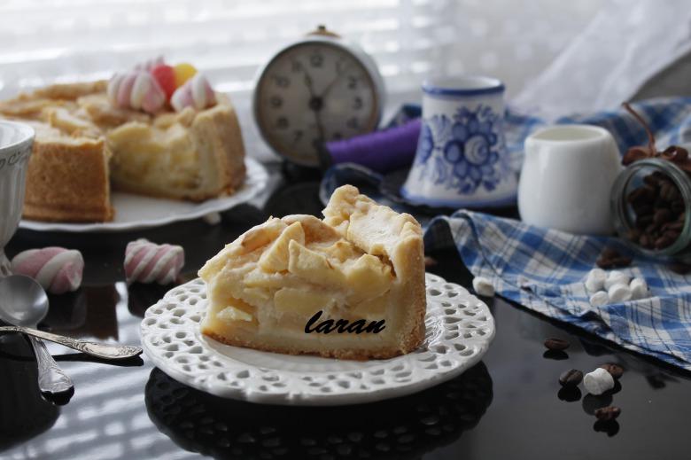 Цвітаєвський яблучний пиріг.