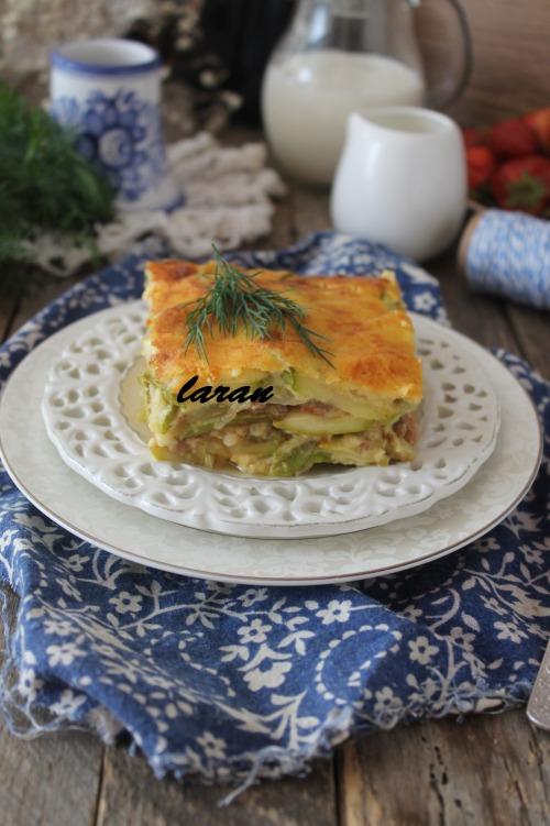 Мусака рецепт (з кабачків)