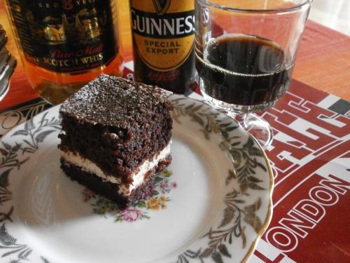 """Ирландский торт """"Гуиннесс"""""""