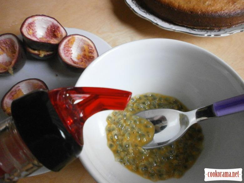 фрукти пасіфлори + ром