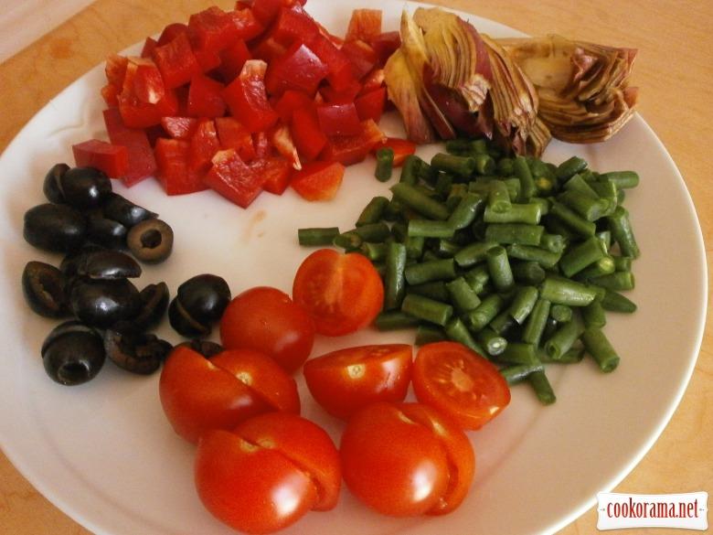 помідори оливки