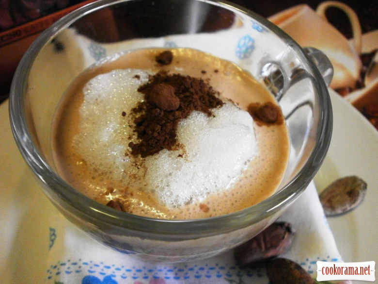 кава какао сир