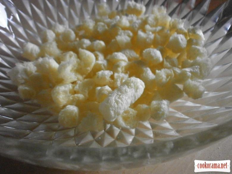 Десерт из кукурузных палочек (вкус детства)