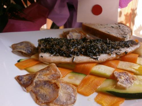 Филе рыбы в чайной панировке