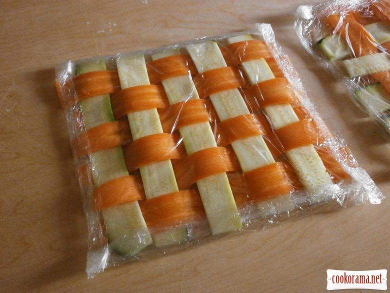 морква цуккіні плівка