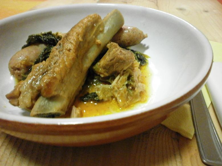 М'ясо тушковане з савойською капустою