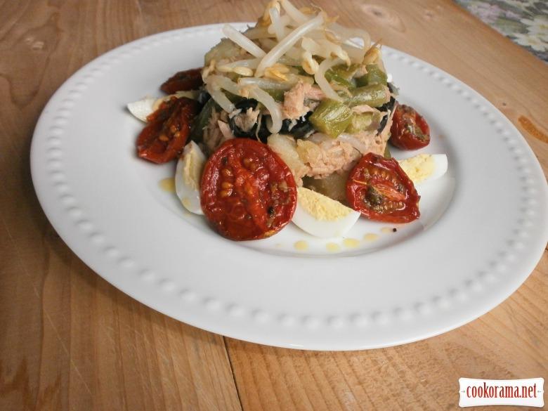 томати конфіт салат