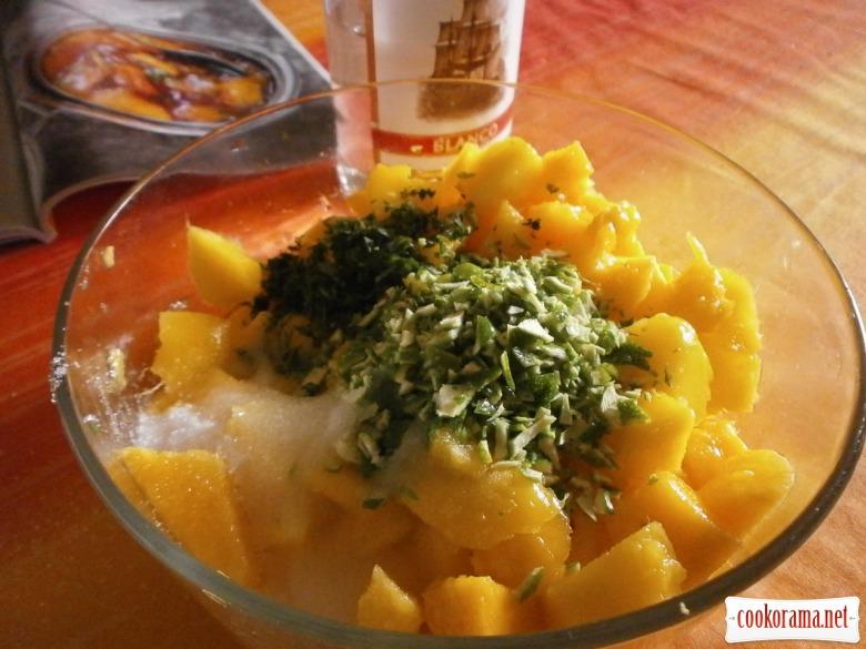 Конфітюр з манго « Мохіто»