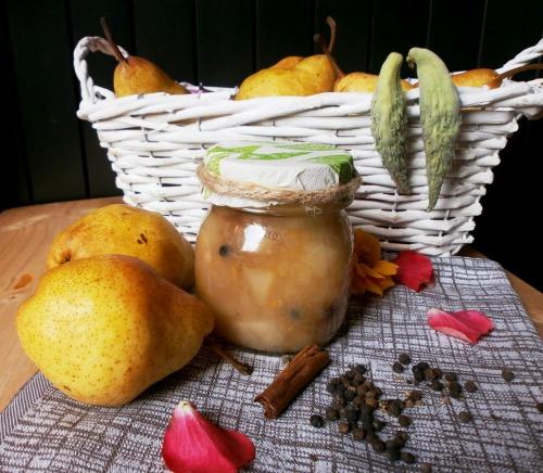 Варення з груш зі спеціями