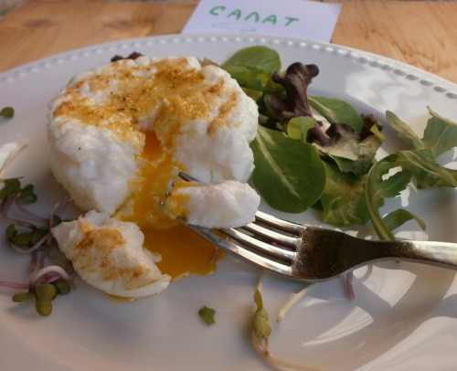"Салат з яйцем "" Хмаринка"""
