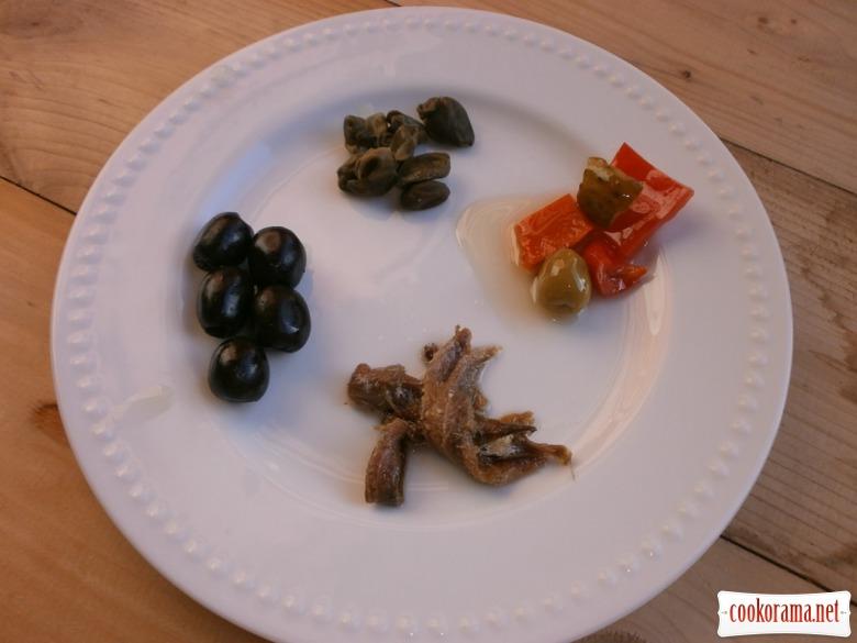 підготувати овочі