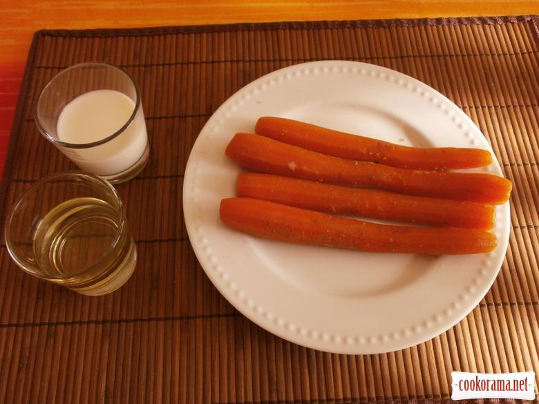Морквяний  майонез без яєць