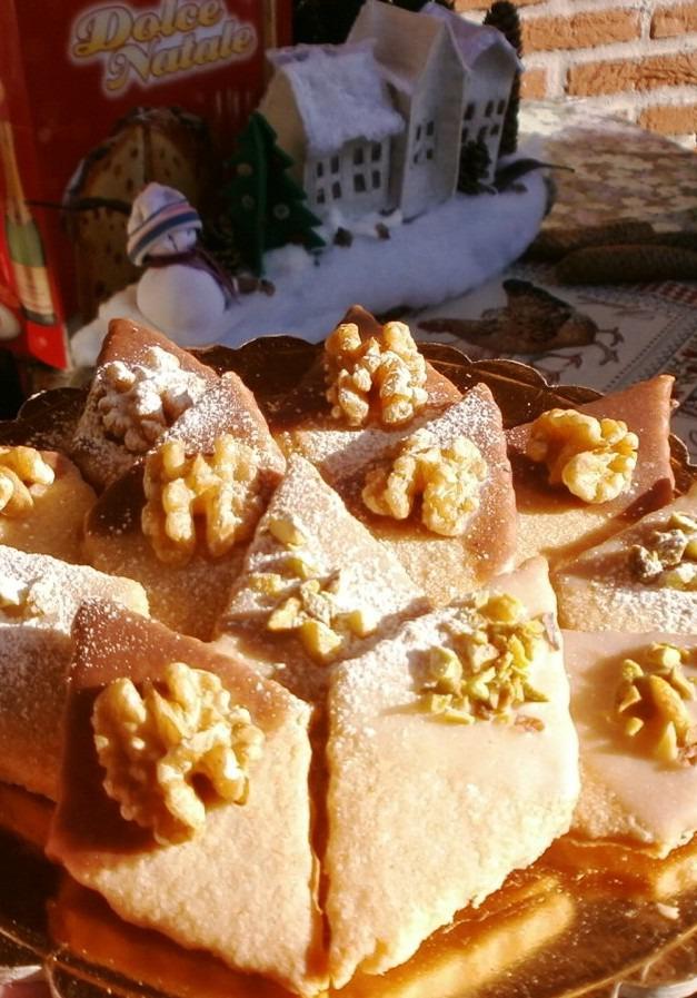 Горіхове печиво з шоколадною глазур'ю