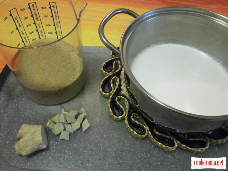 Гранатове морозиво « Орієнте»