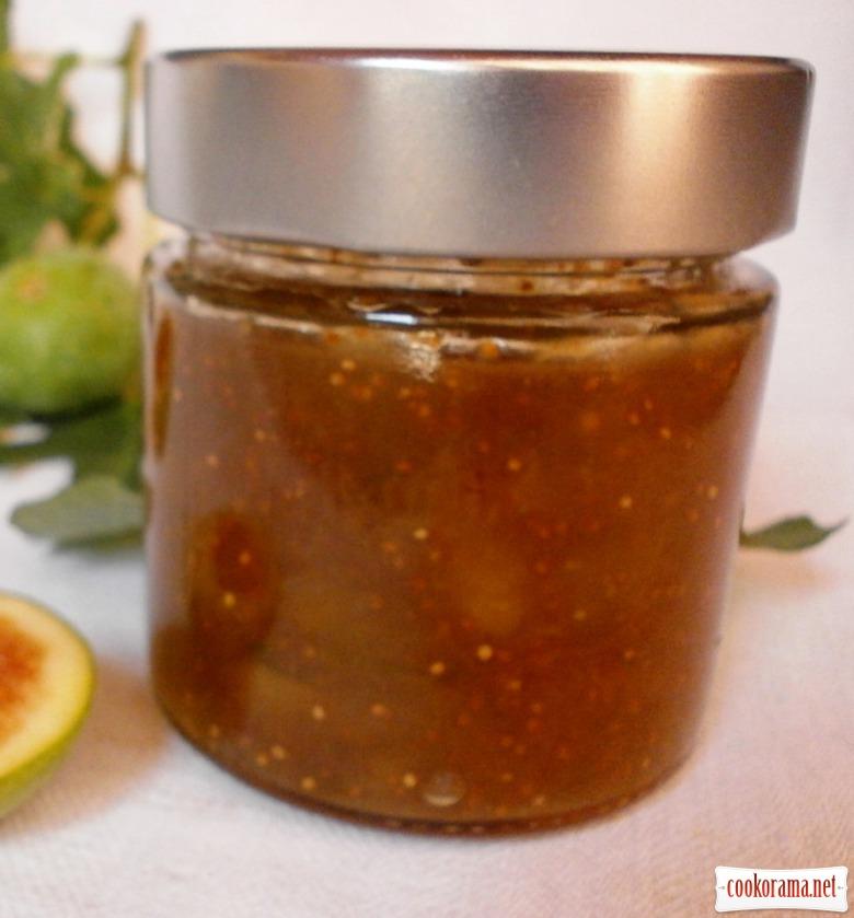Конфітюр інжирно - лимонний  з коньяком
