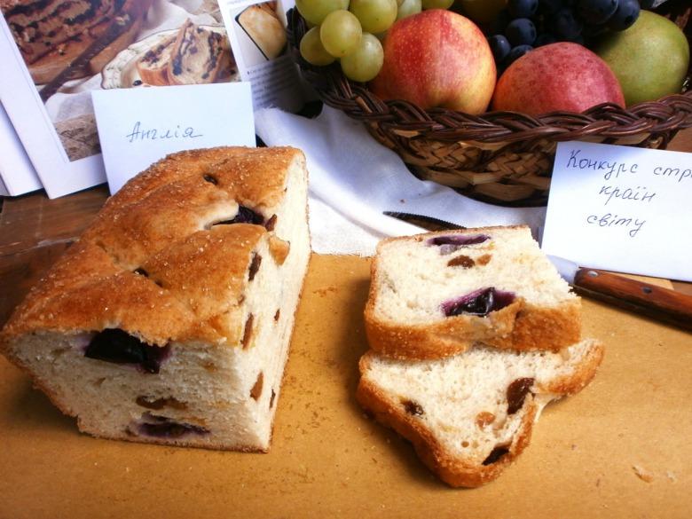 Англійський смальцевий  пиріг ( Lardy cake)