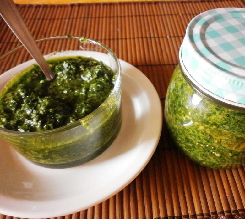 Зелений соус ( Salsa verde)