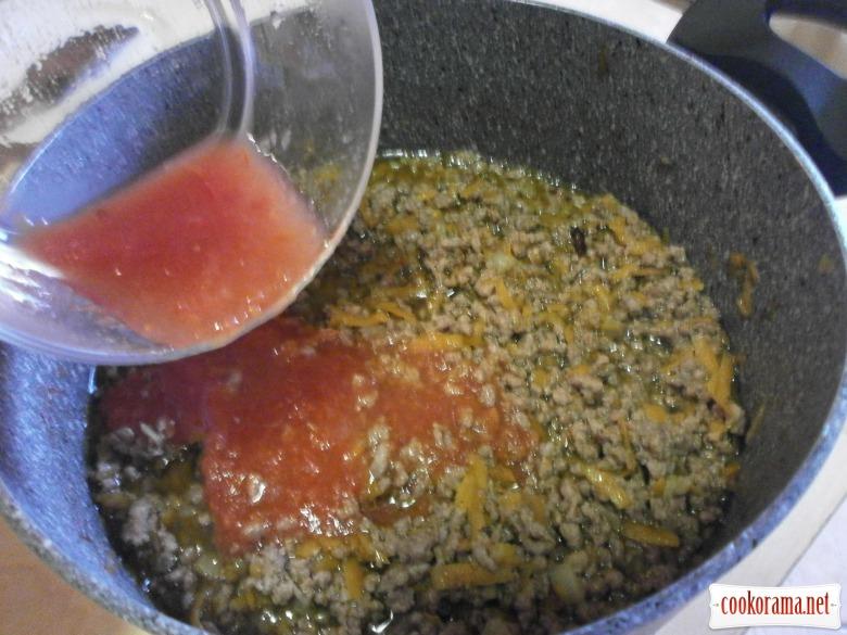 рагу болоньєзе томатний соус