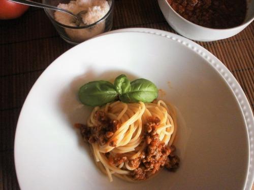 Соус (рагу) болоньєзе до спагетті