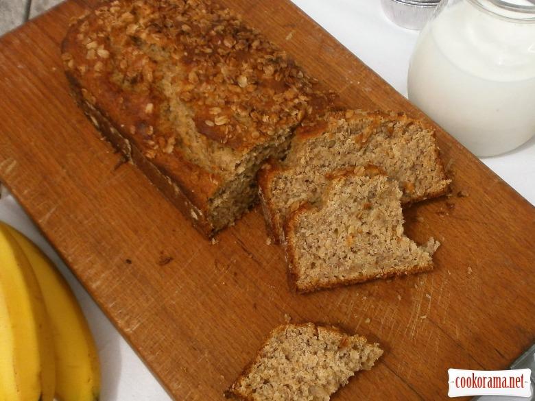 випекти банановий хліб