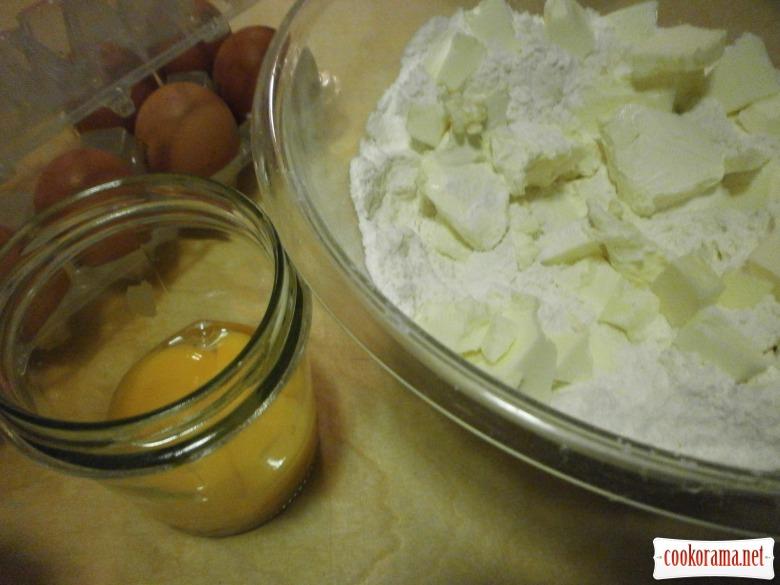приготувати пісочне  тісто
