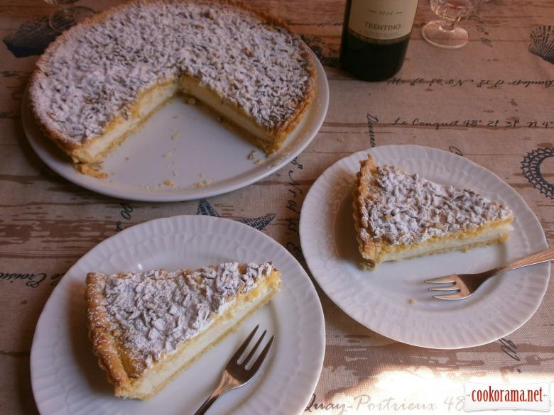 бабусин торт з соняшниковим насінням