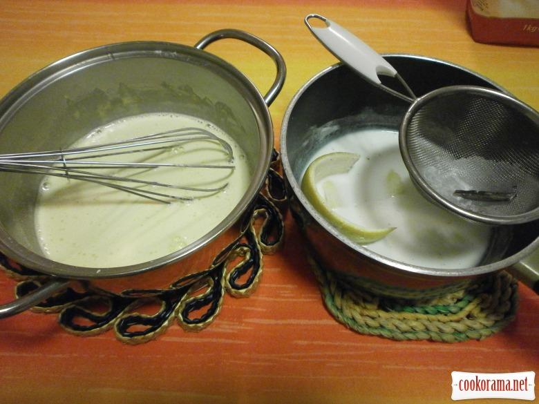 приготувати крем