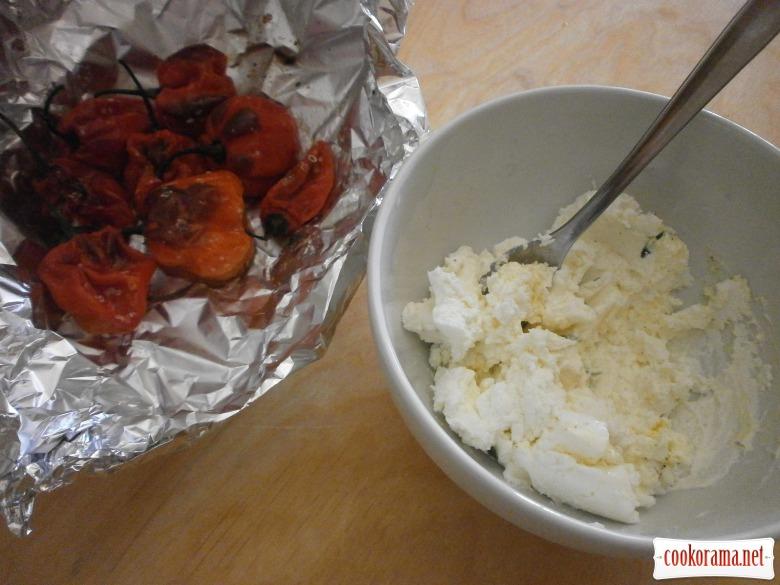 приготувати сирну начинку