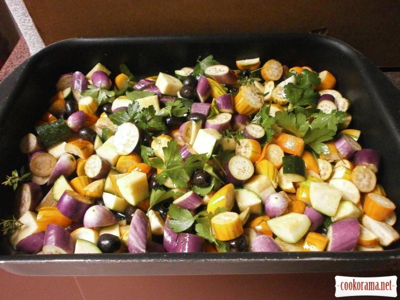 овочі запекти