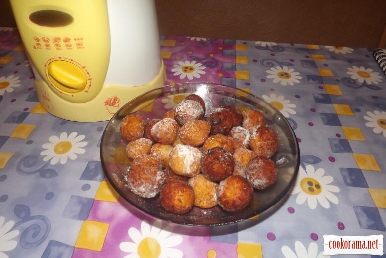 Творожные шарики во фритюре
