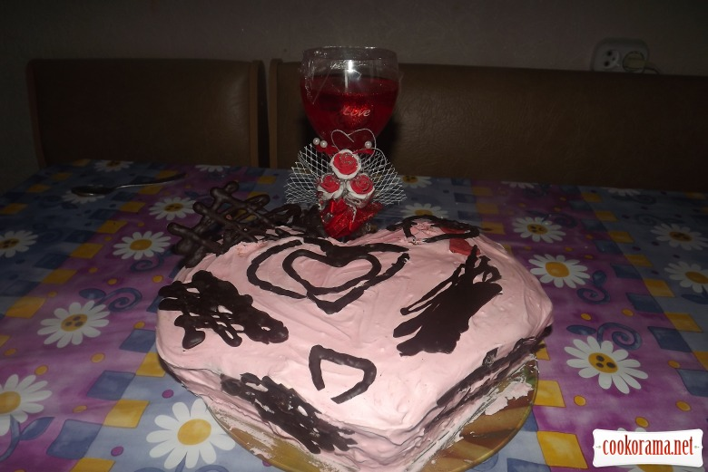 Торт «Моё сердце»