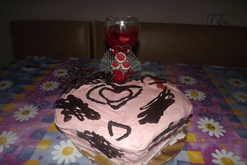 """Торт """"Моє серце"""""""