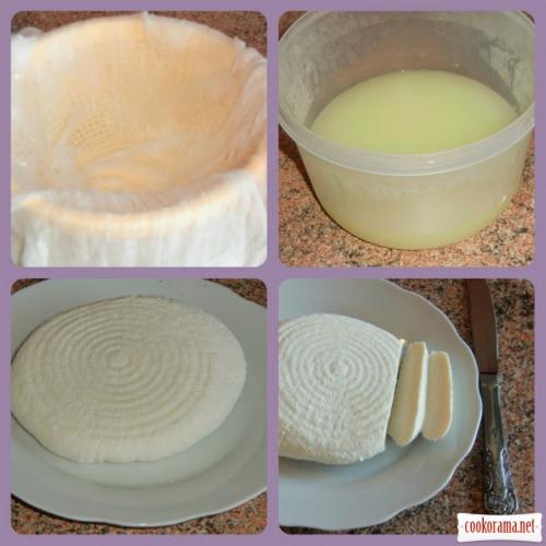 Панир - свежий индийский сыр