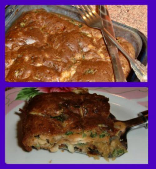 Пирог с рыбной начинкой