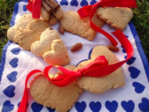 """Печенье с пряностями """"Люблю"""""""