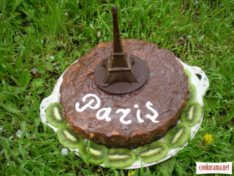 """Торт """"Парижская ночь"""""""