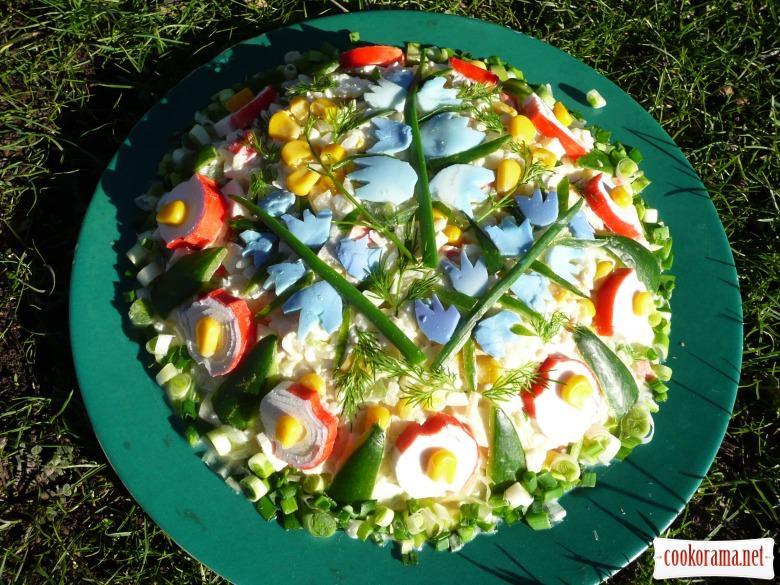 """Салат """"Весенний букет"""""""