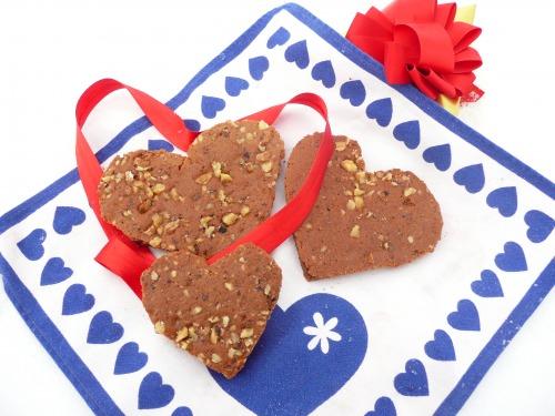 Ореховые сердечки
