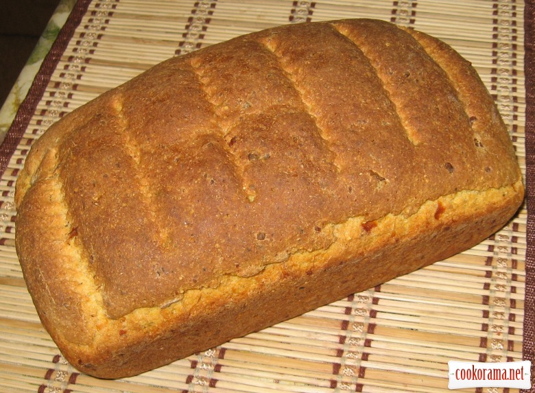 Кукурудзяний хліб з сиром