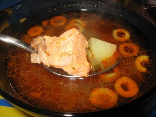 Рибна солянка