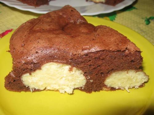 Пиріг із сирними кульками