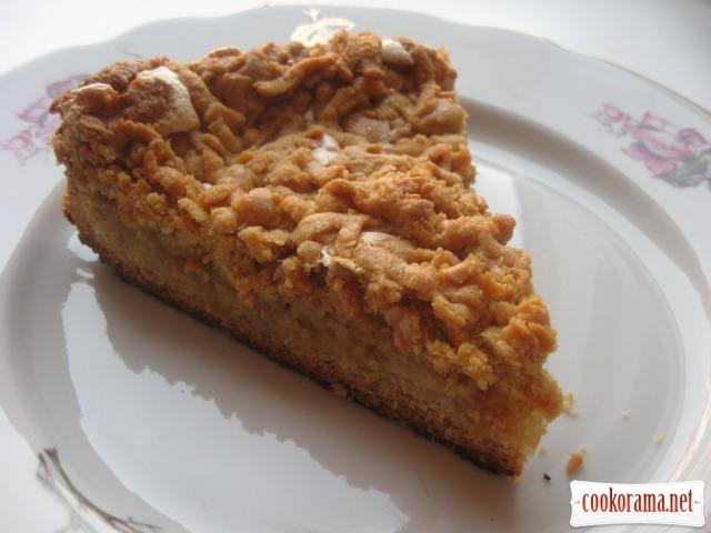 Пиріг яблучний «Мрія»