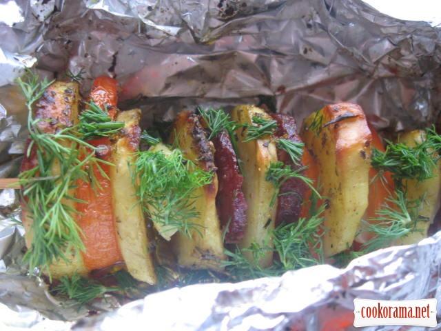 Картопляний кебаб