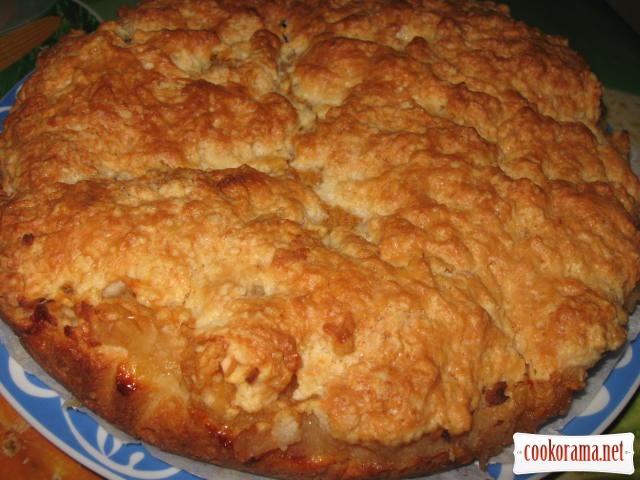 Яблучно-лимонний пиріг