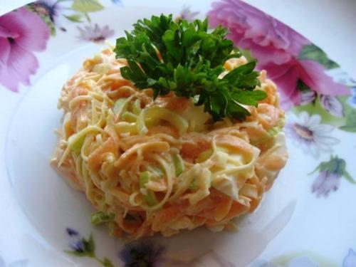 Салат із гарбуза - 2